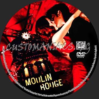 Moulin Rouge dvd label