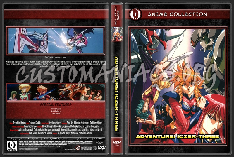 Anime Collection Adventure! Iczer Three dvd cover
