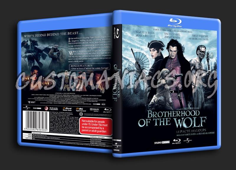 Brotherhood of the Wolf blu-ray cover