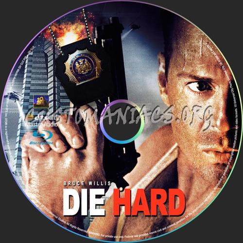 Die Hard blu-ray label