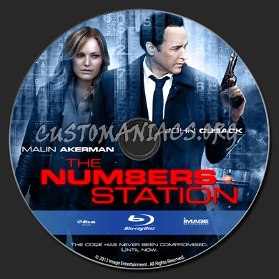 The Numbers Station blu-ray label
