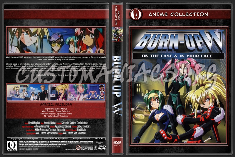 Anime Collection Burn Up W dvd cover