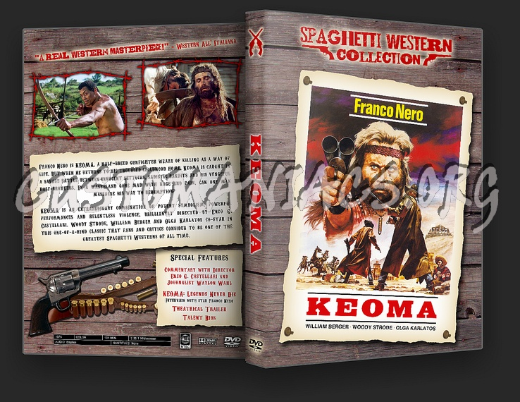 Spaghetti Western Collection - Keoma dvd cover