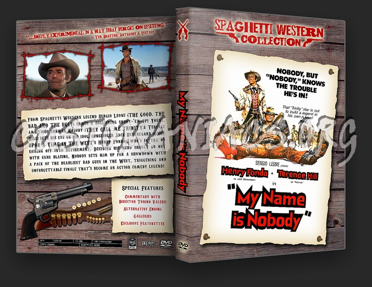 Spaghetti Western Collection - My Name Is Nobody dvd cover