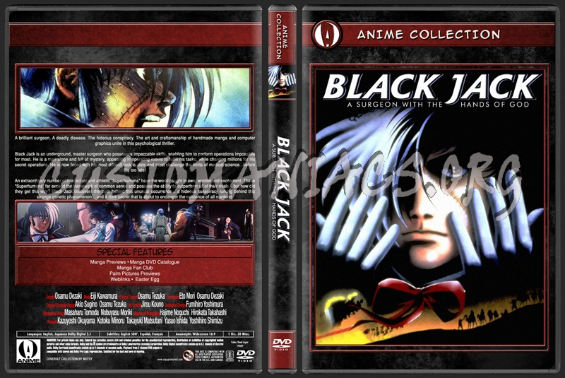Anime Collection Black Jack dvd cover