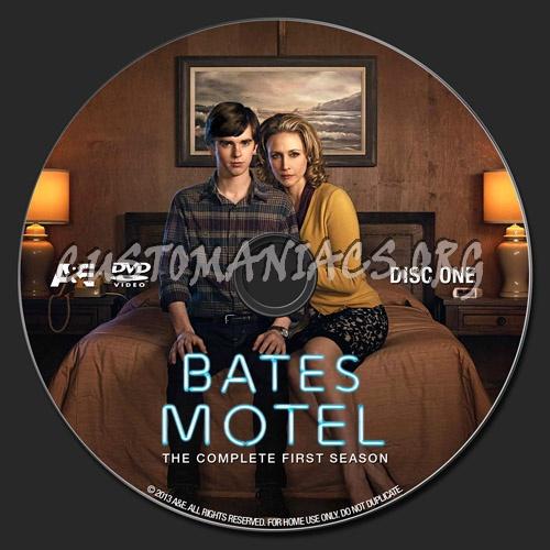 Bates Motel Season 1 dvd label