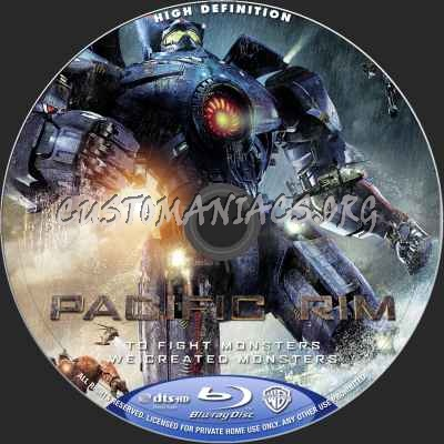 pacific rim blu ray cover  blu ray label share this