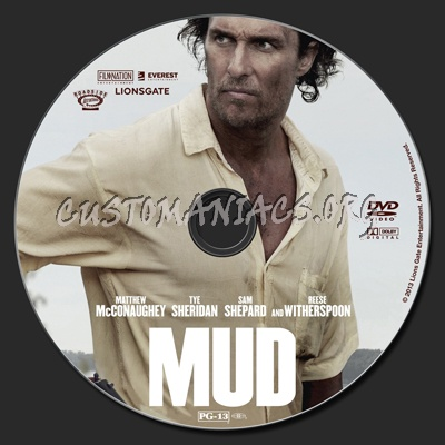 Mud dvd label