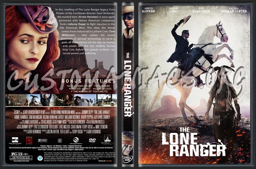 The Lone Ranger dvd cover