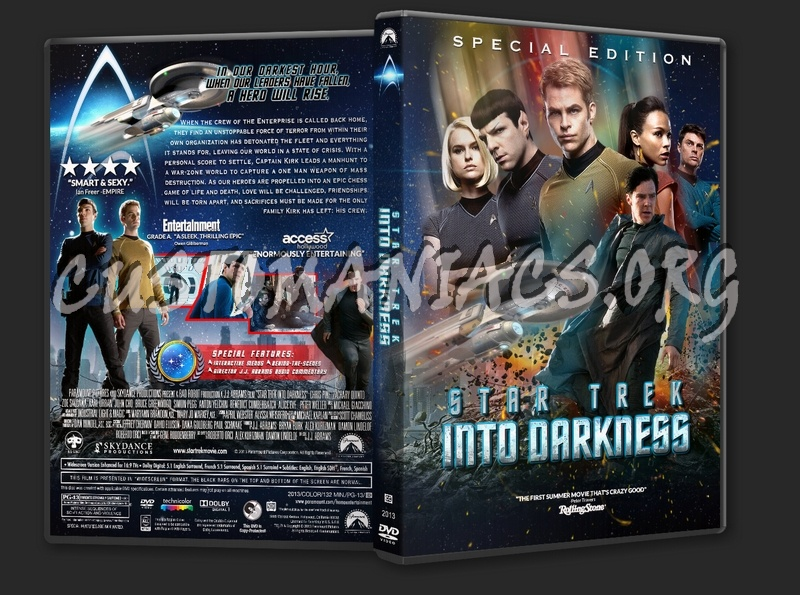 Star Trek Into Darkness (2013) dvd cover