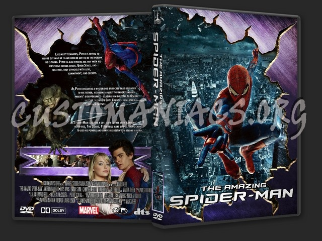 Amazing Spider-man Dvd Cover