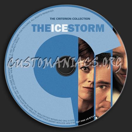426 - Ice Storm dvd label