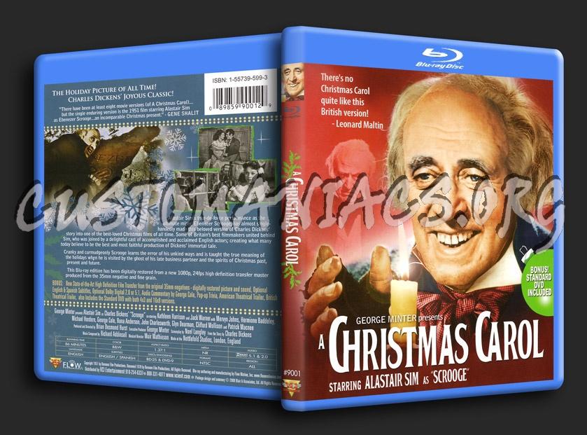 A Christmas Carol blu-ray cover