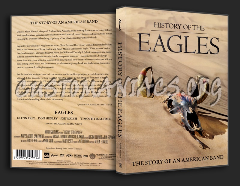 History of The Eagles dvd cover