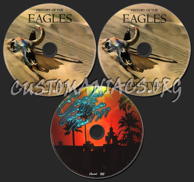 History of The Eagles dvd label