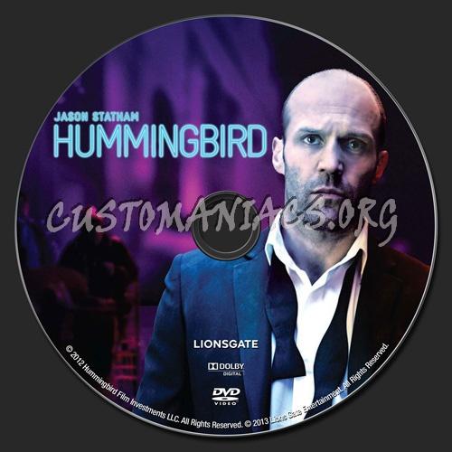 Hummingbird (2013) dvd label
