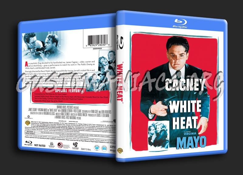 White Heat blu-ray cover
