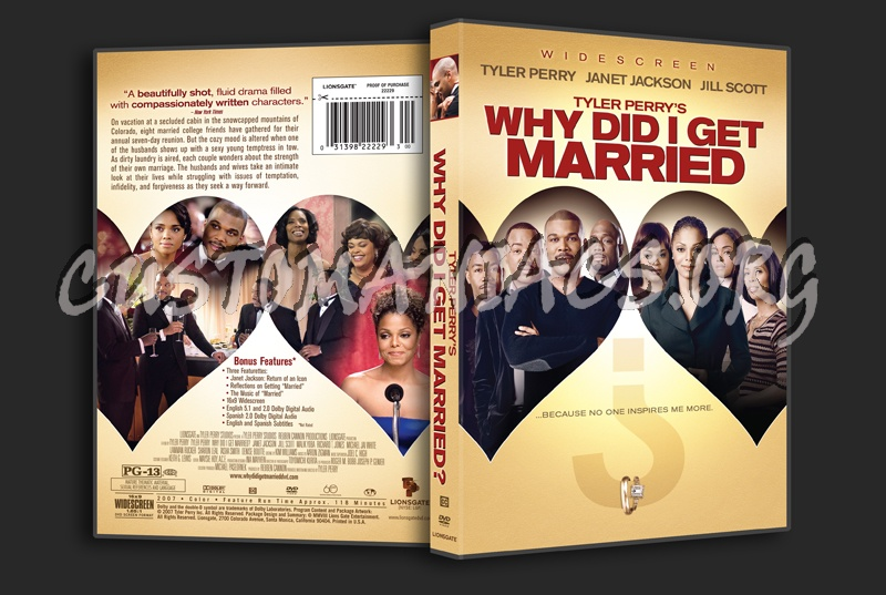 Why did I get Married dvd cover