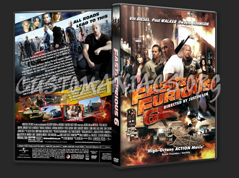 Fast Furious 6 2013 Dvd Cover Dvd Covers Labels By Customaniacs Id 194128 Free Download Highres Dvd Cover