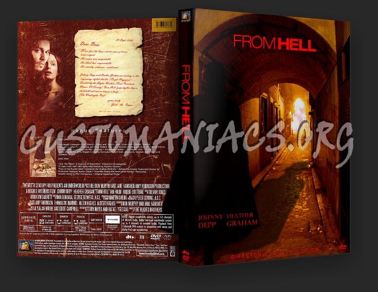 From Hell dvd cover