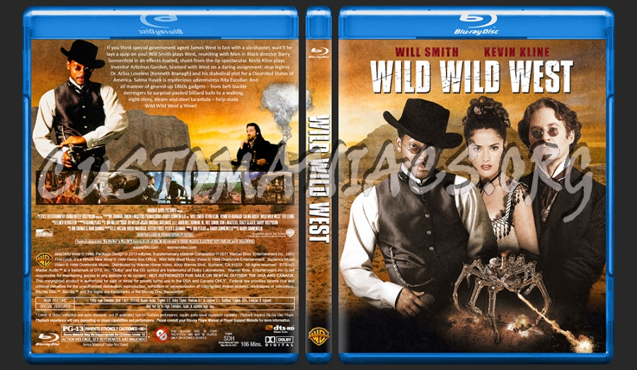 Wild Wild West blu-ray cover - DVD Covers & Labels by ...