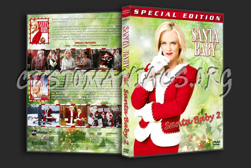 Santa Baby Double Feature dvd cover