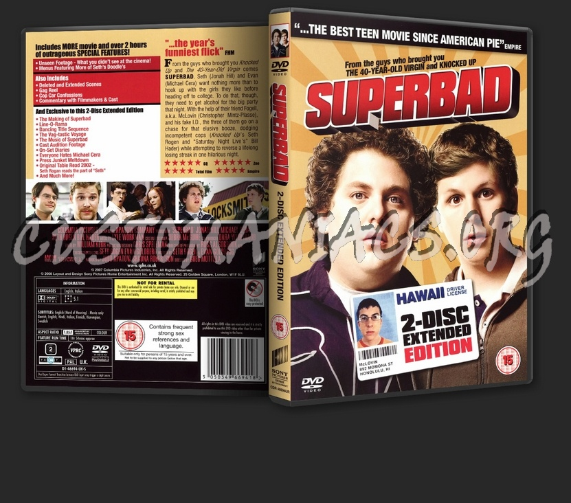 superbad 2. Superbad: 2 Disc Extended