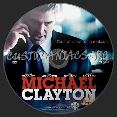 Michael Clayton dvd label