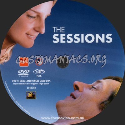 The Sessions dvd label
