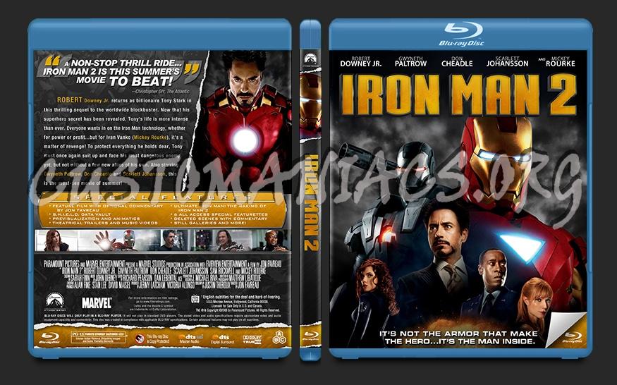 Iron Man 2 blu-ray cover