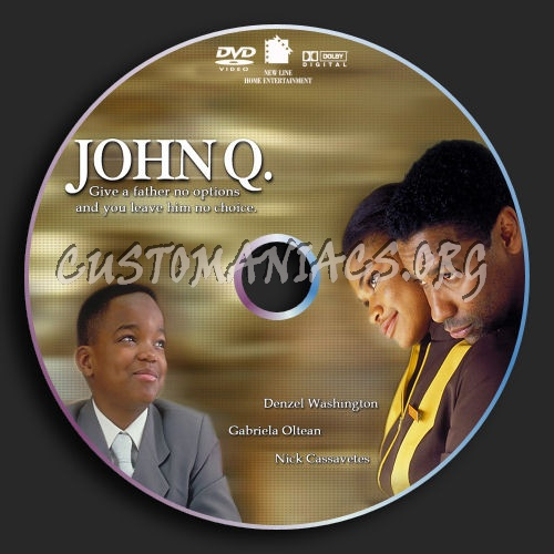 John q dvd label