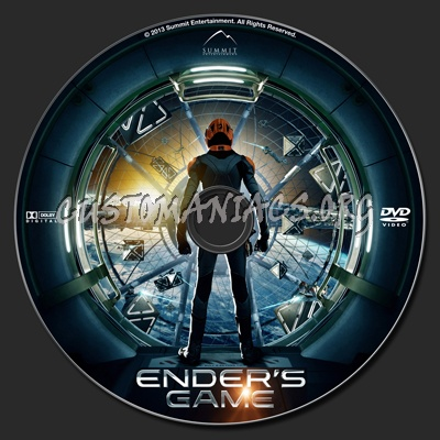 Ender's Game dvd label