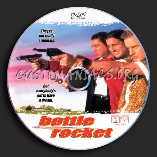 Bottle Rocket dvd label