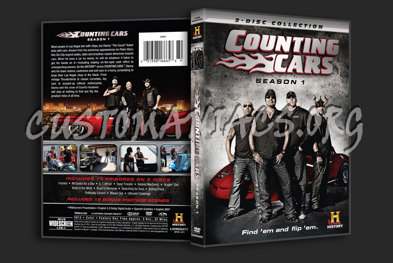 Counting Cars Season 1 Dvd Cover Dvd Covers Labels By Customaniacs Id 194906 Free Download Highres Dvd Cover