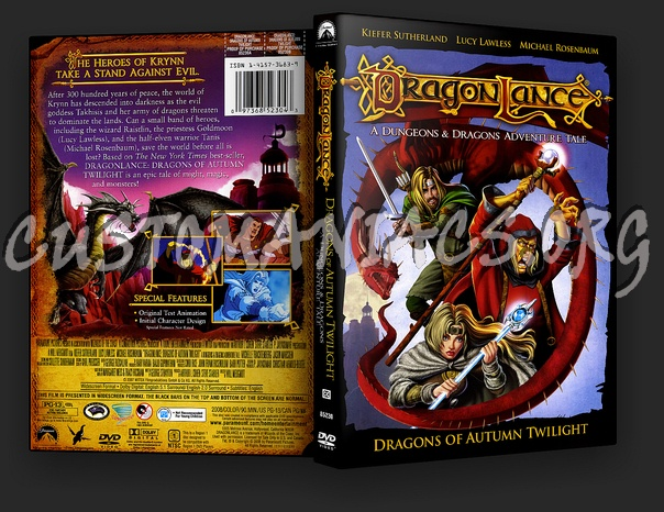 Dragonlance: Dragons of Autumn Twilight dvd cover