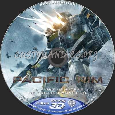 Pacific Rim blu-ray label - DVD Covers & Labels by ... Pacific Rim Blu Ray Cover