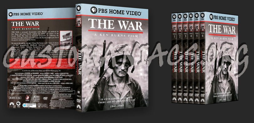 The War dvd cover