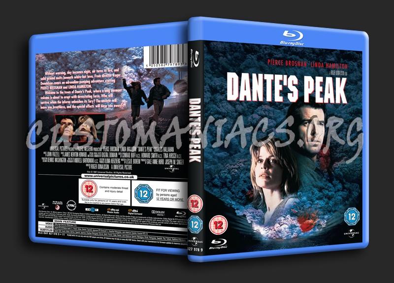 Dante's Peak blu-ray cover