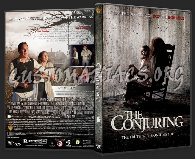 The Conjuring dvd cover