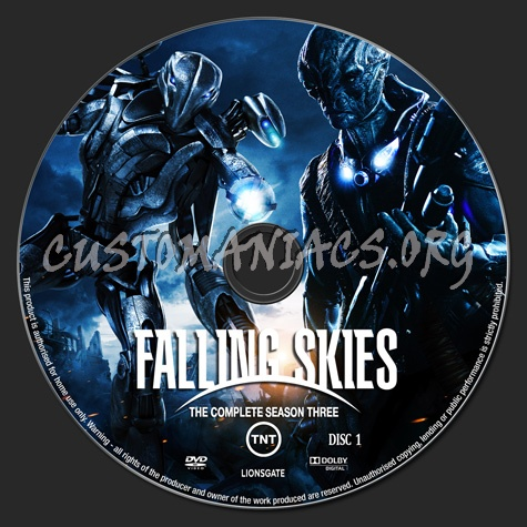 Falling Skies Season 3 dvd label - DVD Covers & Labels by ...