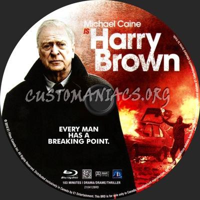 Harry Brown blu-ray label
