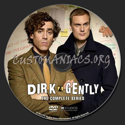 Dirk Gently dvd label