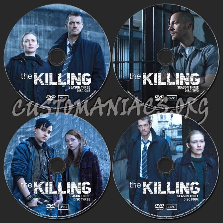 The Killing Season 3 dvd label