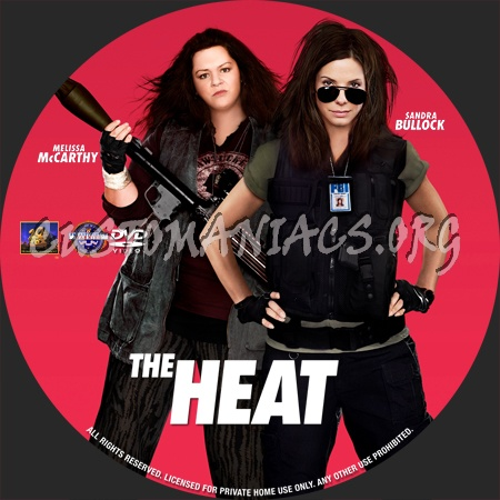 The Heat dvd label