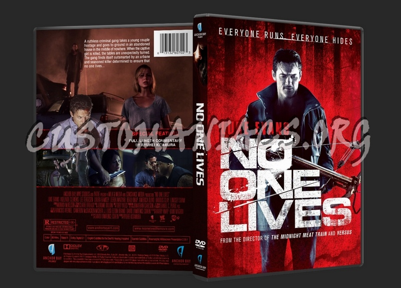 No One Lives dvd cover