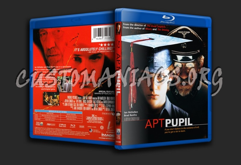 Apt Pupil blu-ray cover