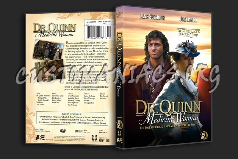 Dr. Quinn Medicine Woman Season 1 dvd cover