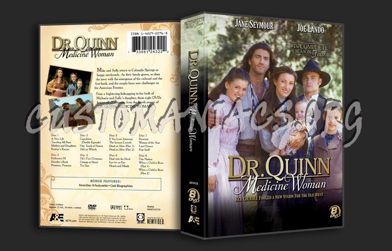Dr. Quinn Medicine Woman Season 4 dvd cover