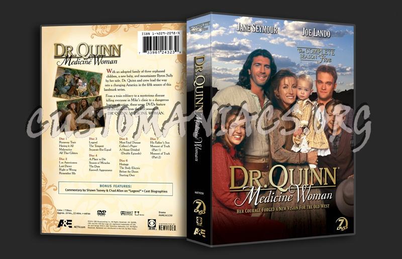 Dr. Quinn Medicine Woman Season 5 dvd cover