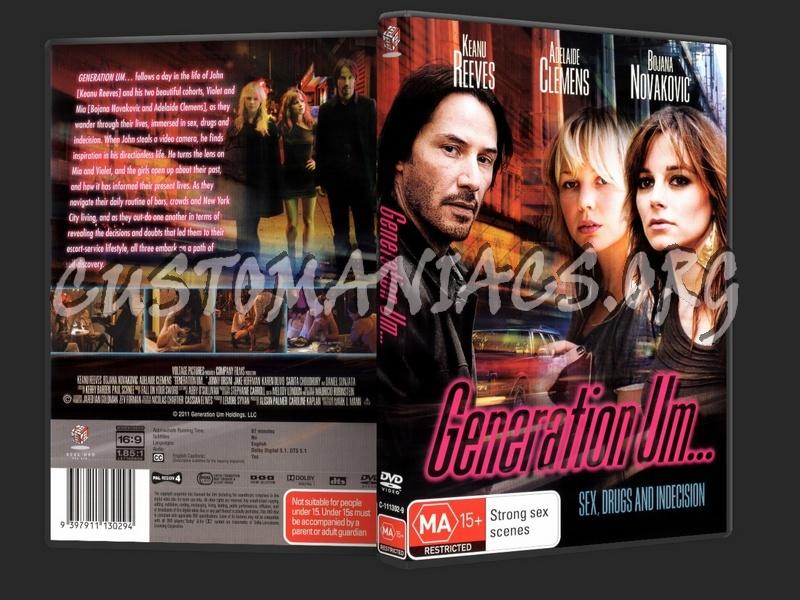 Generation Um... dvd cover